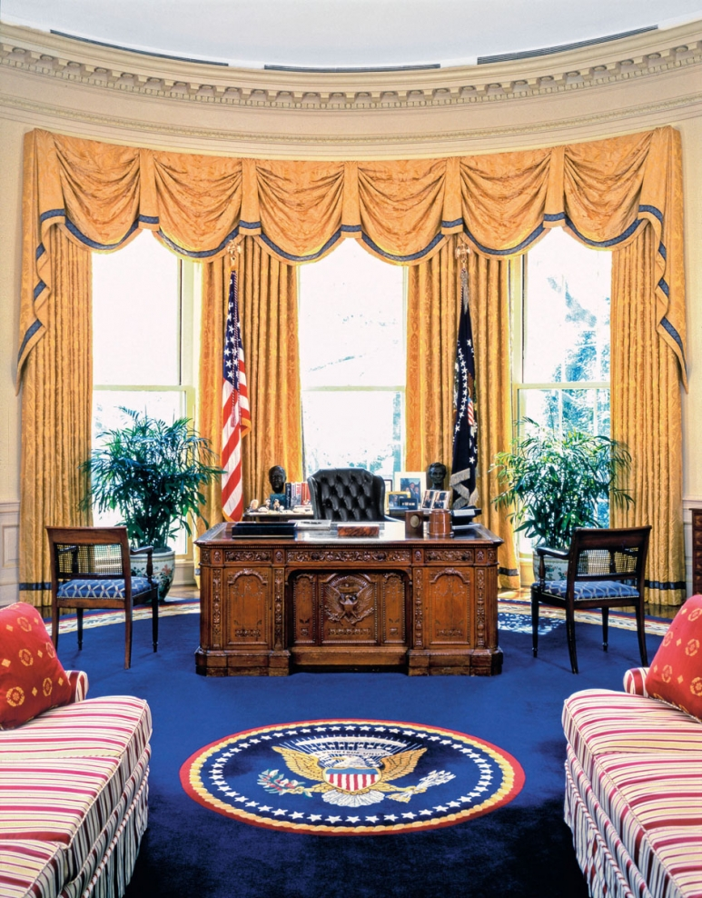 Interior Design Of The Oval Office Through The Years